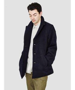 Kapital | Django Melton Wool Peacoat Navy Menswear