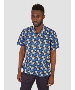 Gitman Vintage | Open Collar Short Sleeve Shirt Menswear
