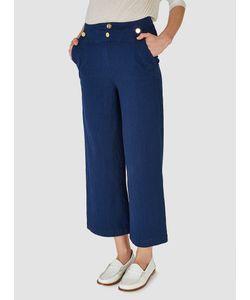 RODEBJER | Sally Trousers Indigo Stripe Womenswear