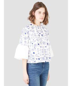 LF MARKEY | Embroidered Fisherman Top Womenswear