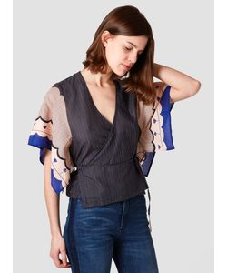 RODEBJER | Cami Airy Top Light Indigo Womenswear
