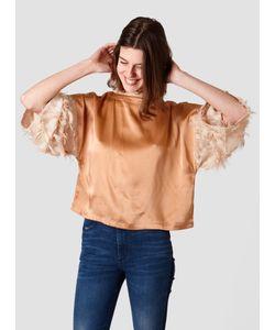 RODEBJER | Petrina Fringe Top Sand Womenswear