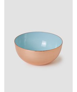 LOUISE ROE | Copper Enamel Metal Bowl Copper Light