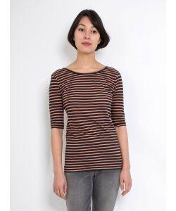 Humanoid | Jux T-Shirt Night Stripe