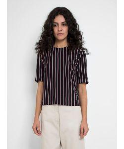 Nanushka | Lima Georgette Stripe Top