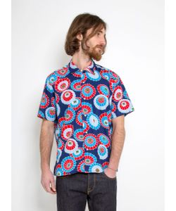Gitman Vintage   Vintage Camp Shirt Target Print