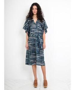 Humanoid | Wave Print Warry Dress Iron