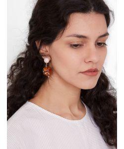 Rachel Comey   Paso Earrings Petal Marble