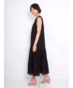 A PIECE APART | Fuentes Sleeveless Tiered Dress