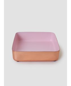 LOUISE ROE | Copper Enamel Metal Tray