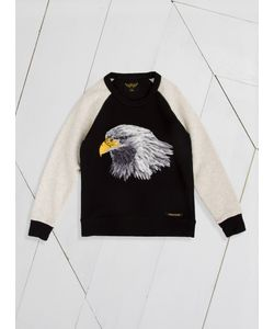 FINGER IN THE NOSE | Hank Eagle Embroide Sweatshirt
