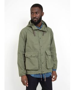 Engineered Garments | Lt Parka Olive Pc Poplin