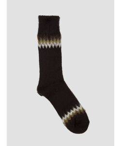 Anonymous Ism | Brushed Texture Chevron Socks
