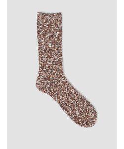 MAUNA KEA   Colour Slub Sock