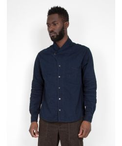 Kapital | Shawl Collar Woven Shirt