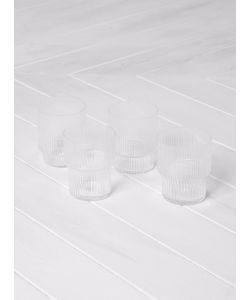 FERM LIVING | Ripple Glass Set Of 4