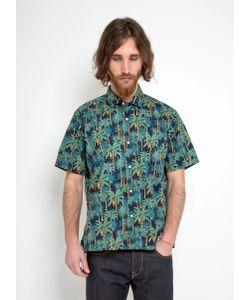 Gitman Vintage   Vintage Camp Shirt Palm Tree Print