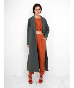 Rachel Comey   Kilo Trench Coat Militray