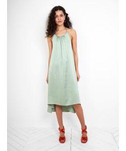 Rachel Comey   Hammered Silk Swivel Dress Light