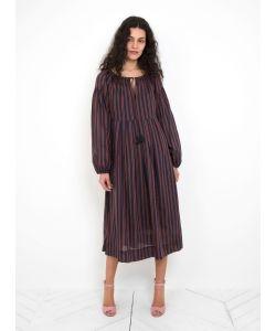 Steven Alan | Feywood Dress Brick Stripe