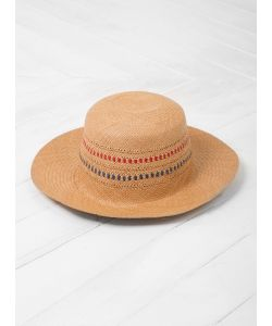 Local Apparel | Maia Straw Hat Natural