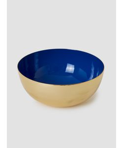 LOUISE ROE | Brass Enamel Metal Bowl