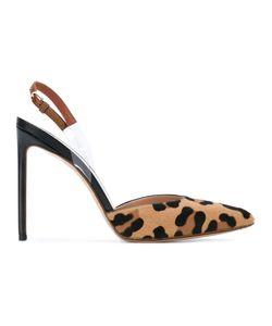 FRANCESCO RUSSO | Туфли С Леопардовым Принтом