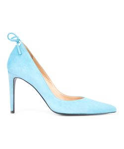 Stuart Weitzman | Peekabow Pumps 6 Suede/Leather