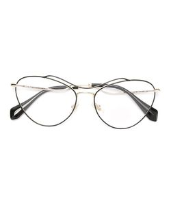 Miu Miu Eyewear | Oversized Glasses Acetate/Metal