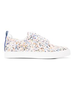 Pierre Hardy | Slider Paint Splatter Sneakers Size 39