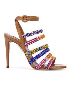 Aquazzura   Tribal Strappy Sandals Size 38.5