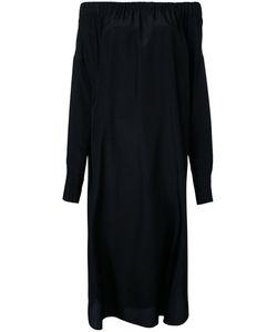 08SIRCUS | Off The Shoulder Dress 36 Cupro/Silk