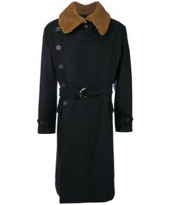 Cini | Contrasting Lapel Coat