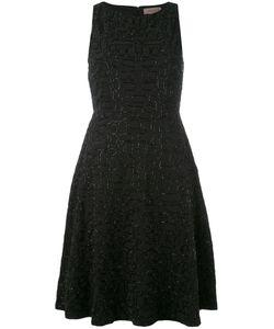 TONY COHEN | Платье Шифт С Вышивкой