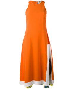 MSGM | Fla Sleeveless Dress 44 Silk/Acetate/Viscose