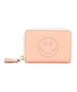 Anya Hindmarch | Perforated Smiley Wallet Calf Leather
