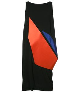 Issey Miyake | Sleeveless Graphic Print Dress Size