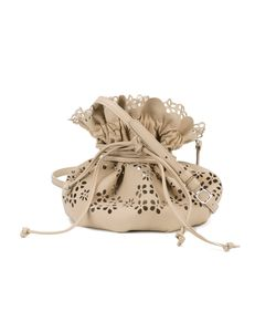 Simone Rocha | Perforated Drawstring Bag