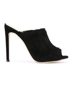 Giuseppe Zanotti Design | Frayed Stiletto Mules Size 37.5