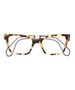 Miu Miu Eyewear | Tortoiseshell Square Glasses Acetate/Metal
