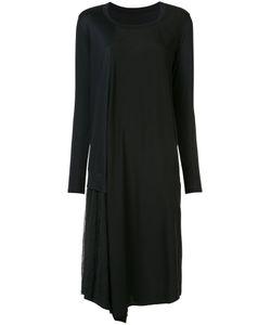 Y'S | Платье Из Джерси С Длинными Рукавами