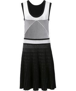 Prabal Gurung | Ottoman Stitch Dress Small Polyester/Viscose