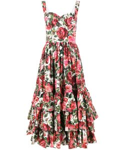 Dolce & Gabbana | Sleeveless Print Dress Size 36