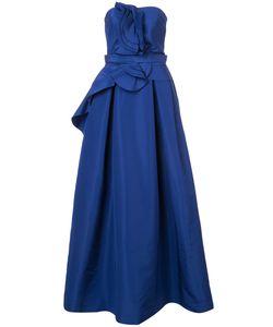 Carolina Herrera | Вечернее Платье Без Бретелек
