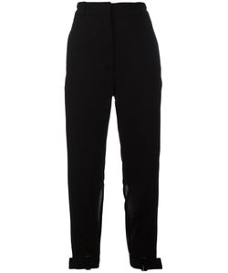 Ann Demeulemeester | Slit Cropped Trousers