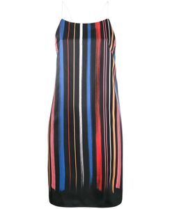 ADAM SELMAN | Stripe Slip Dress Size Small