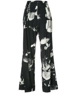 A.F.Vandevorst | Birds Print Straight Trousers