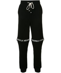 Mostly Heard Rarely Seen | Logo Track Pants Large