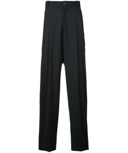 Icosae | Pleated Detail Trousers Small Wool