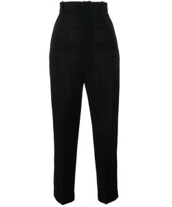 JACQUEMUS | Tape High Waist Trousers 42 Wool